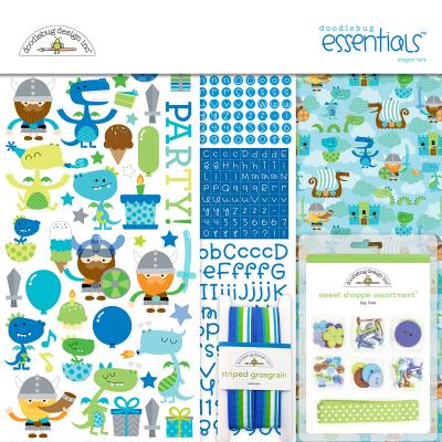 Doodlebugs Dragon Tales - Essentials Kit
